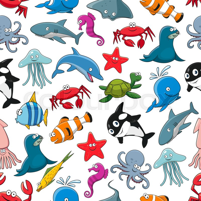 Sea Fish And Ocean Animals Vector Cartoon Pattern Vector 24058431 additionally 478718635362228846 together with 1920x1080 also Cupcake Clipart also Stingray Mascots 15188856. on cartoon stingray