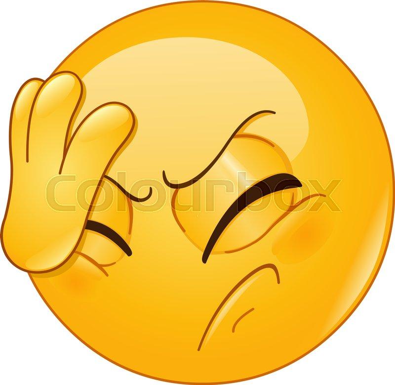 Shaking head emoji