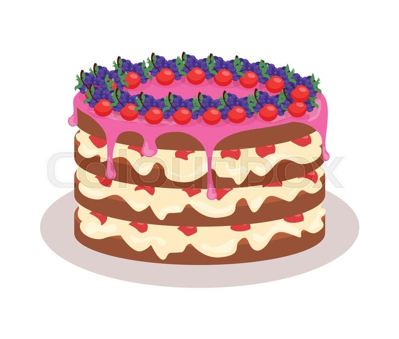 Delicious Cake Festive Cake Web Banner Chocolate Cake Bakery