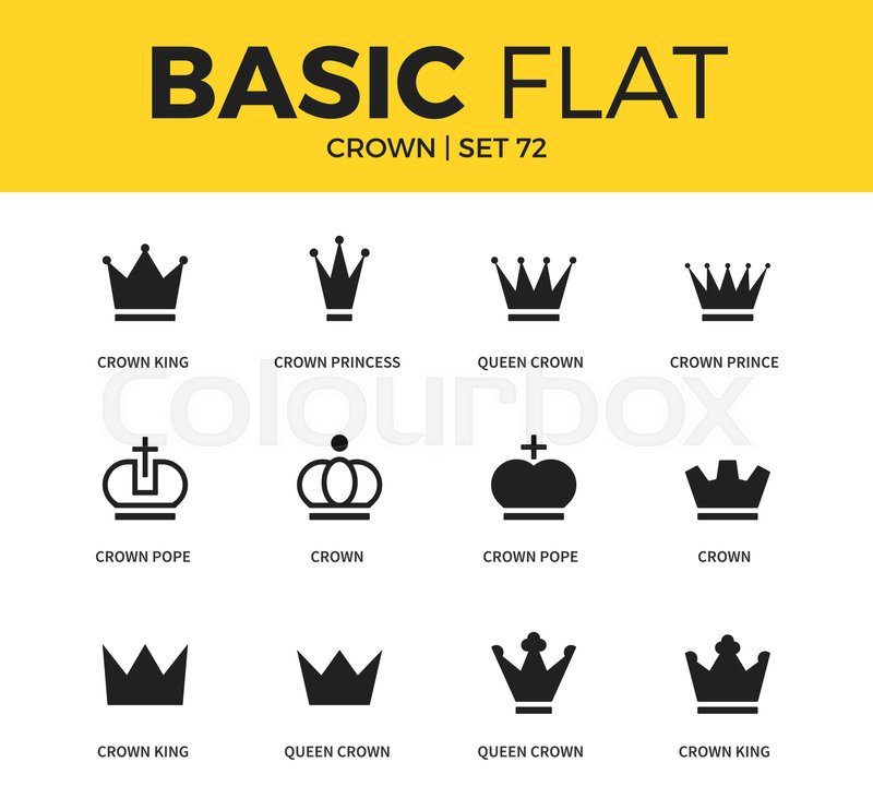 Basic Set Of Crown Pope Form Crown King Form And Crown Princess