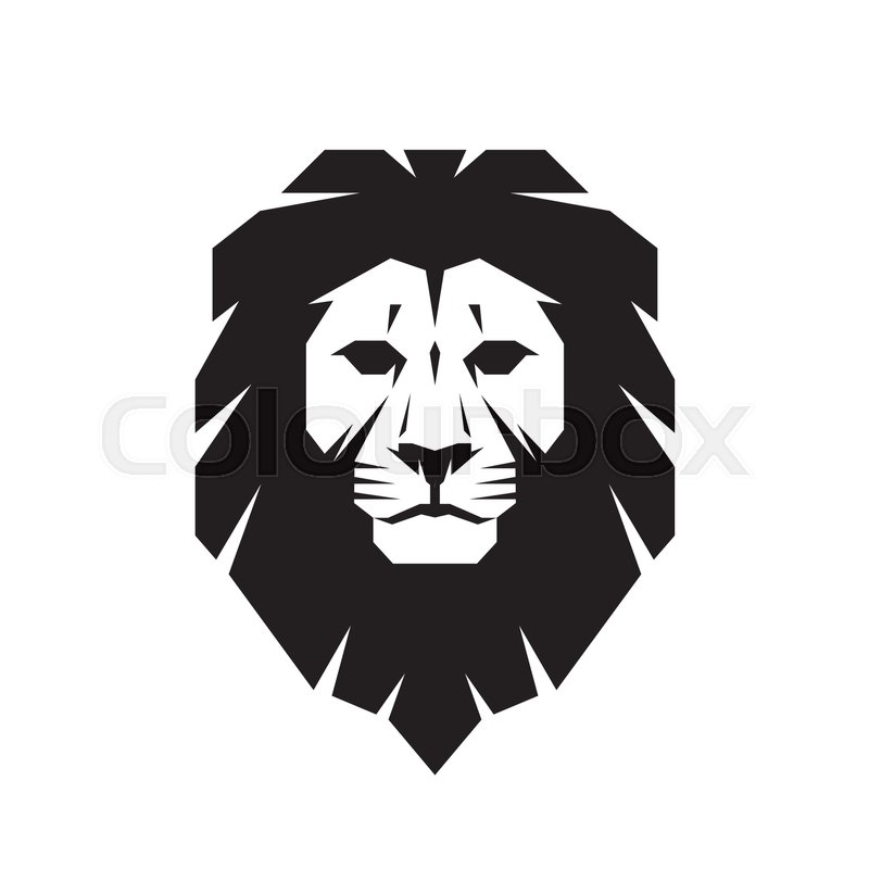 lion head vector logo template creative illustration Black Panther Free Download Black Panther Free Download