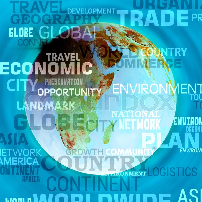 world map words background meaning international or global maps stock photo colourbox