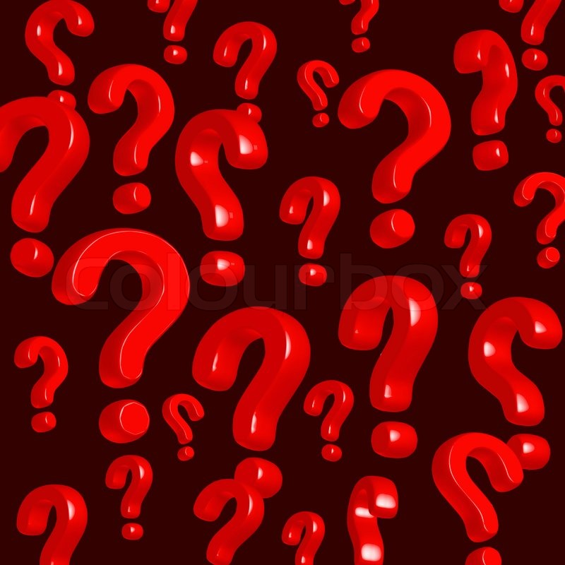 Wallpaper Of Red Question Marks