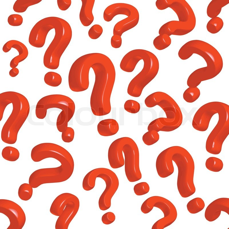 red question mark on wavy background stock vector