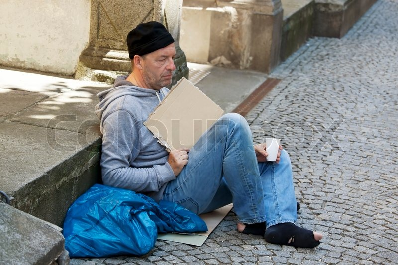 how to help a homeless person get a job