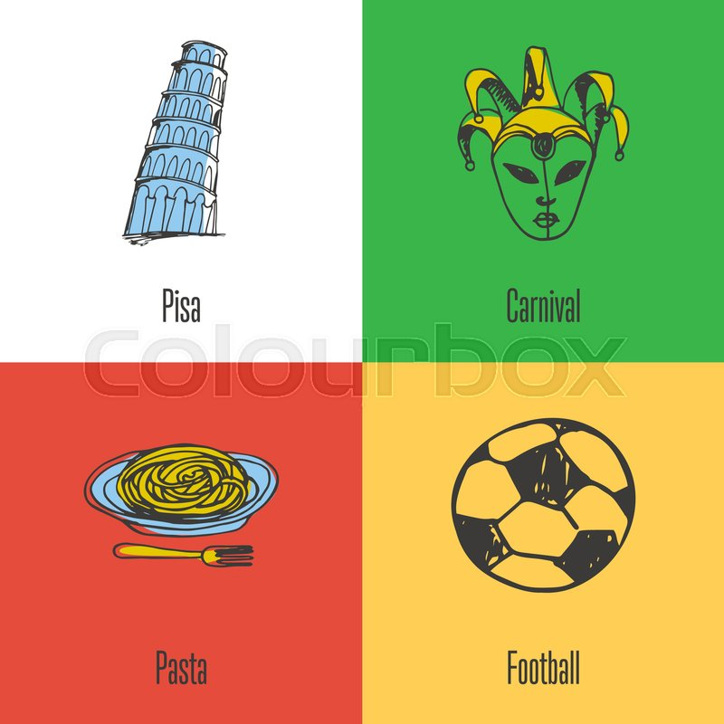 Italian National Cultural Political Culinary Sports Symbols