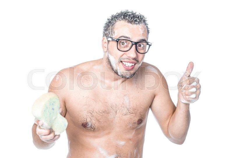 Man bathing cumshot photo 86