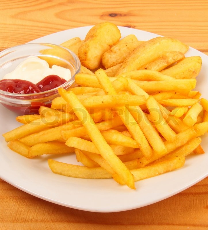 french fries with ketchup - photo #23