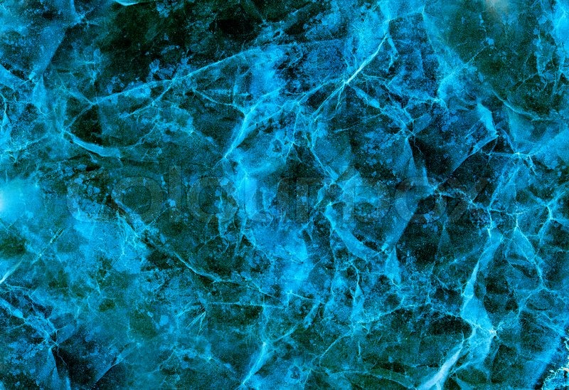 Dark Blue Marble : Dark blue abstract background resembling old marble