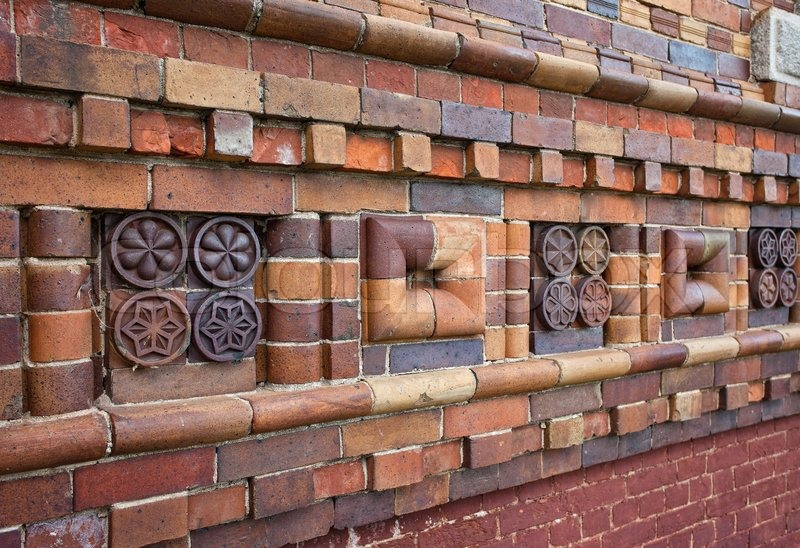 patterns on brick walls - photo #45