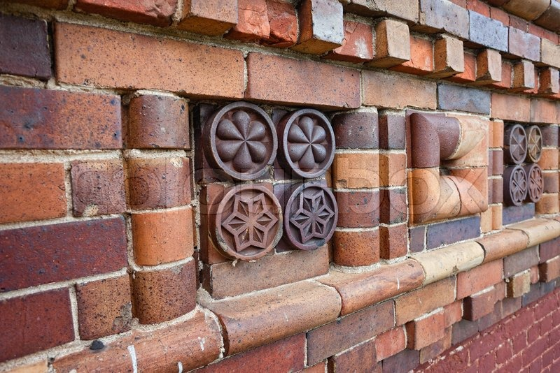 patterns on brick walls - photo #28