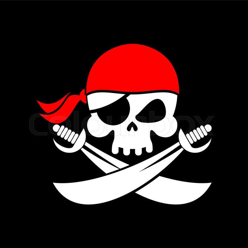 pirate flag skull black banner filibuster head skeleton pirates