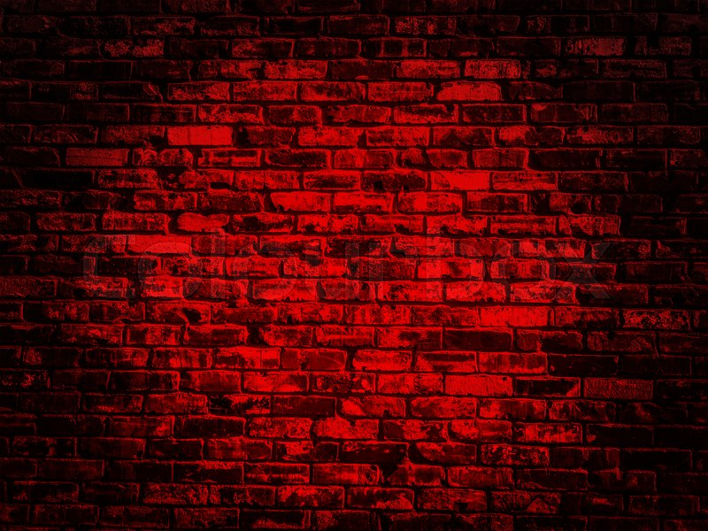 Old black red vintage brick wall texture background with ...