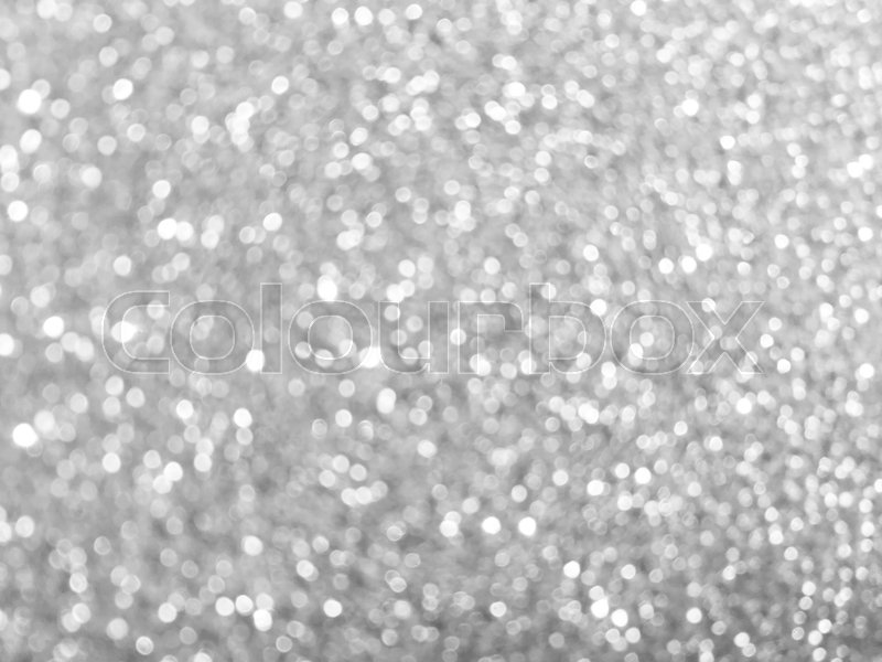white silver glitter bokeh texture christmas abstract background