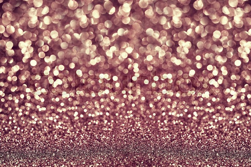 Rose gold glitter texture abstract background, stock photo