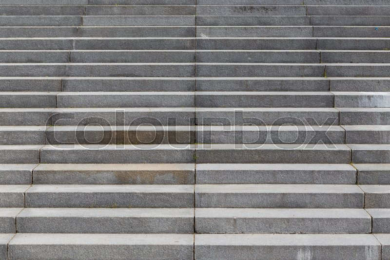 Stock image of 'details of railing and stairs of a modern building'