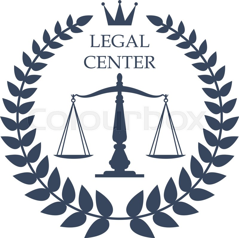 juridical or legal advocacy center icon with scales of justice rh colourbox com advocate login in advocate login in