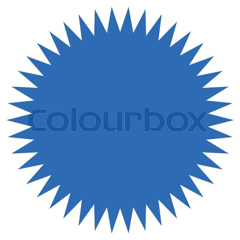 starburst sunburst shape flat price tag price flash icon stock rh colourbox com sunburst clipart vector sunburst clip art images