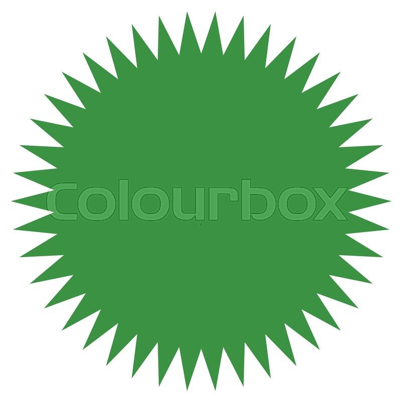 starburst sunburst shape flat price tag price flash icon stock rh colourbox com sunbirst clipart sunbirst clipart