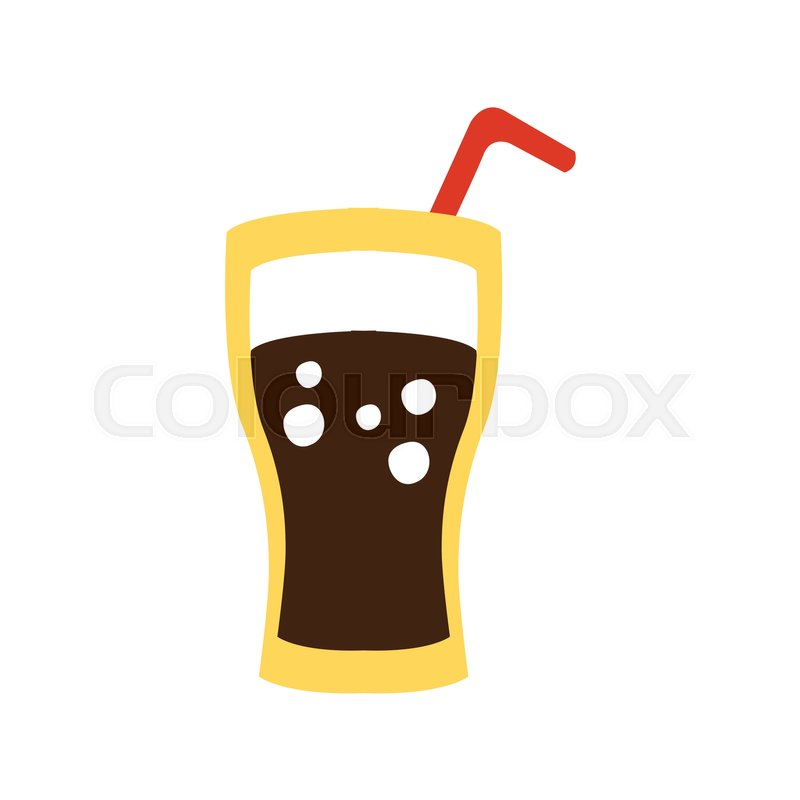 glass with non alcoholic sweet soda drink and a straw primitive rh colourbox com primitive clipart graphics primitive clipart graphics