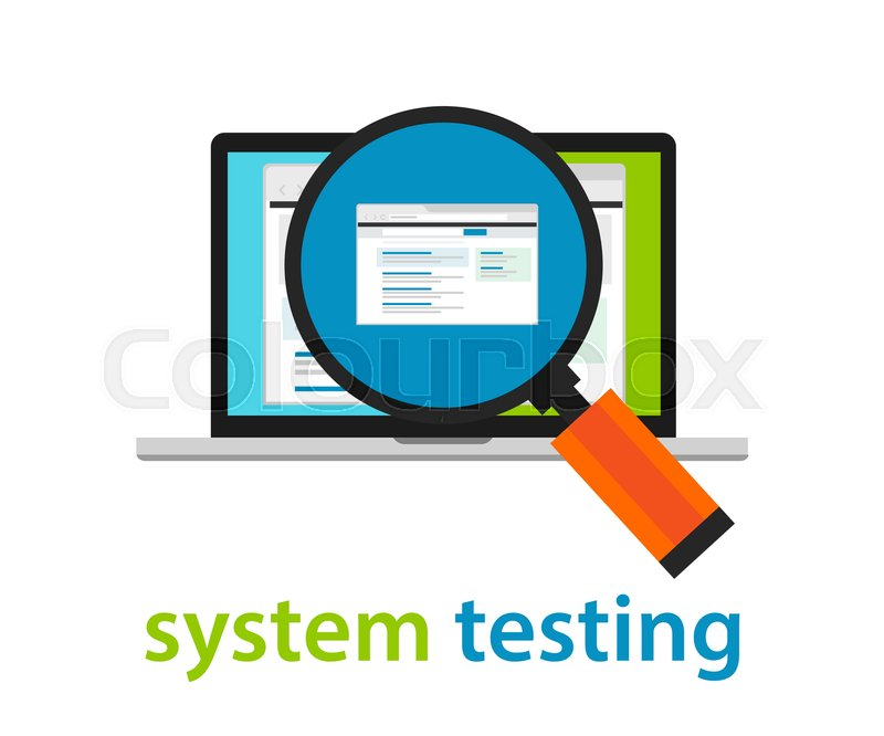 System testing software quality assurance approval process coding stock vector of system testing software quality assurance approval process coding programming application review vector ccuart Gallery