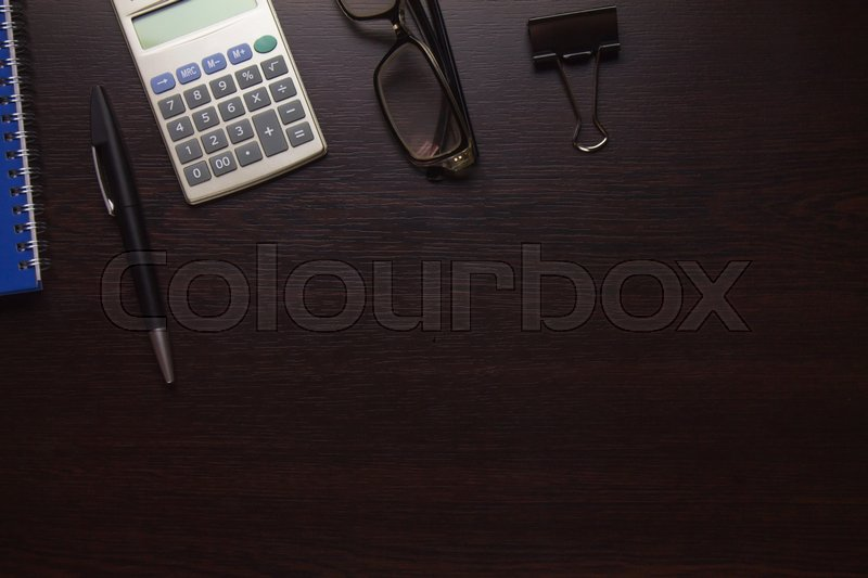 Business objects, stock photo