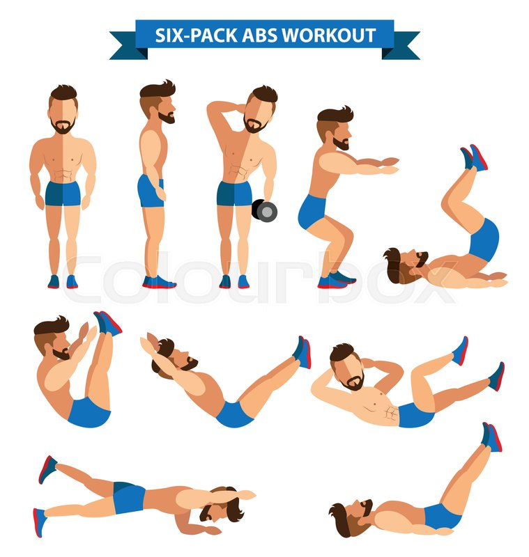 Six-Pack Abs Workout For Men For Men Exercise At Home -5734