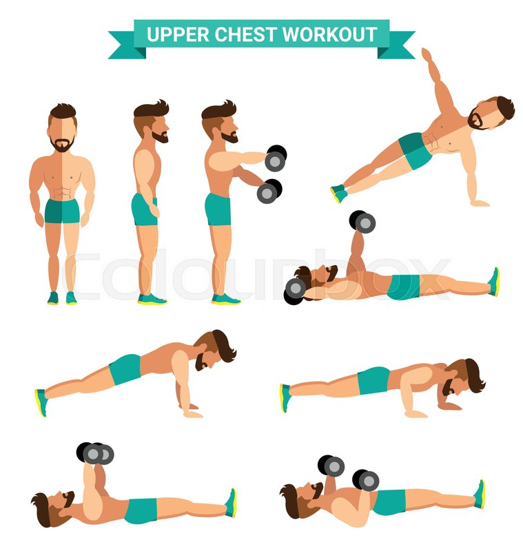 The Best Upper Chest Workout For Men Exercise At Home