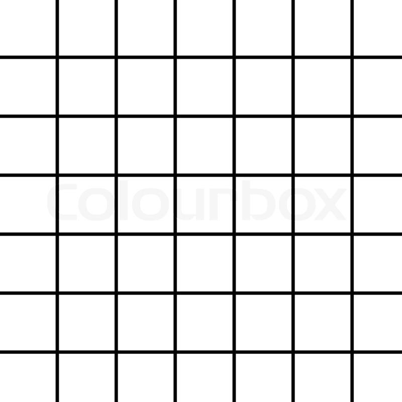 5ac03276a14d2 Black grid on white | Stock image | Colourbox