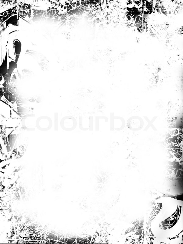 schwarz wei grunge border stockfoto colourbox. Black Bedroom Furniture Sets. Home Design Ideas