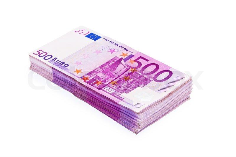 500 banknoten sind eine menge geld auf einem haufen auf wei em hintergrund stock foto. Black Bedroom Furniture Sets. Home Design Ideas