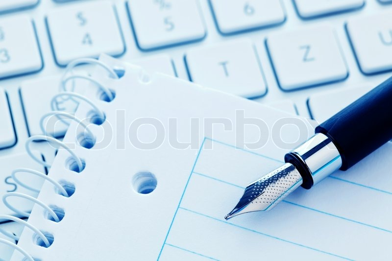 how to write in computer with pen