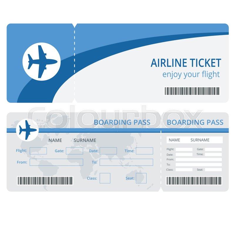 Resultado de imagen de plane ticket