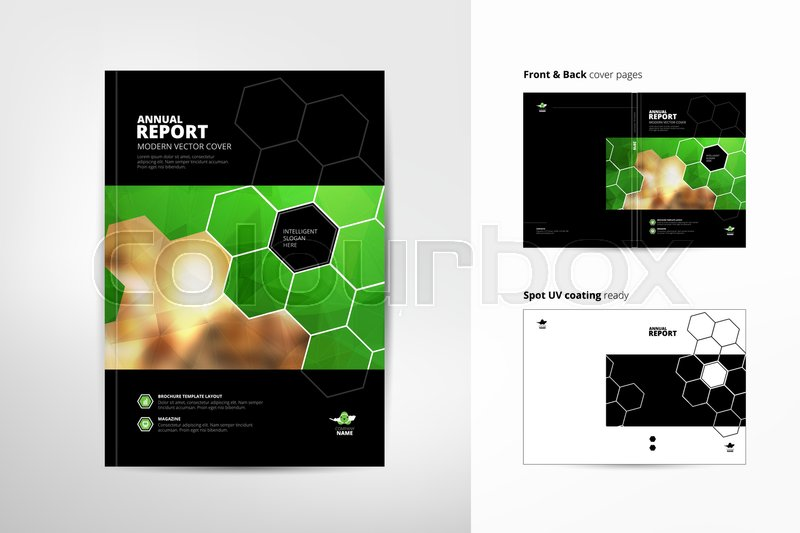 catalog cover design annual report cover brochure design front