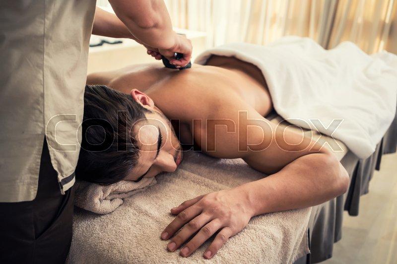 man Asian massage