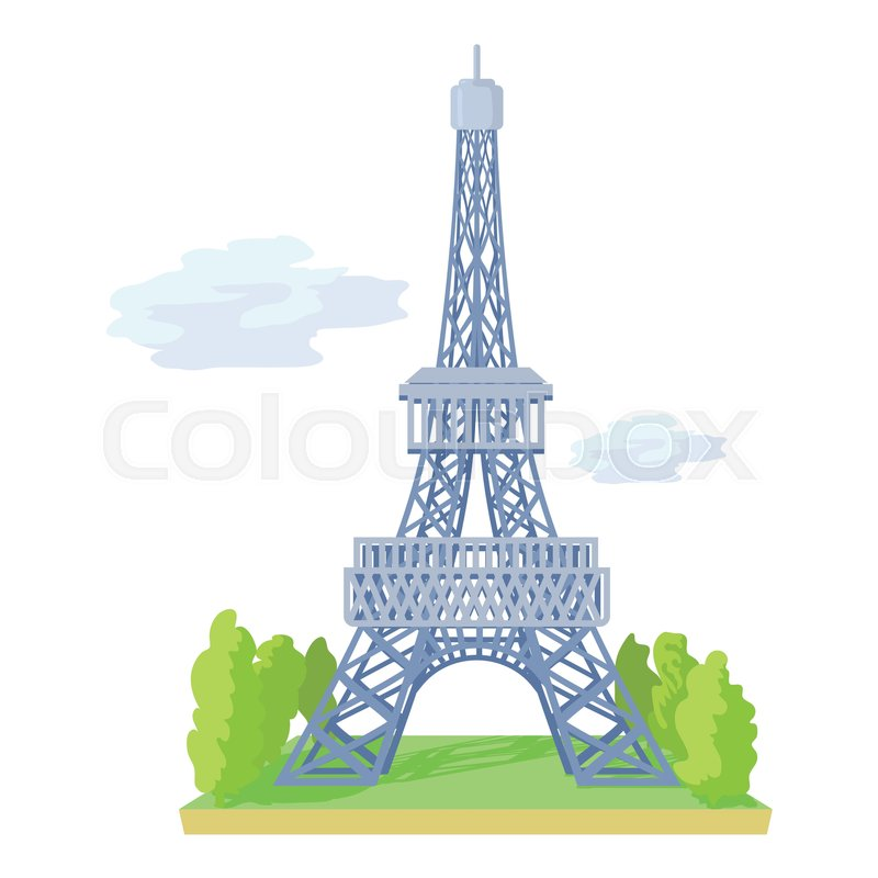 eiffel tower icon cartoon illustration of eiffel tower new home clip art free new home clip art border