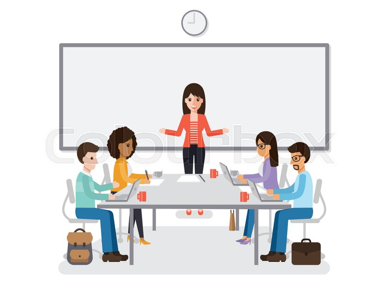 businessmen and businesswomen meeting in conference room business team brainstorming together