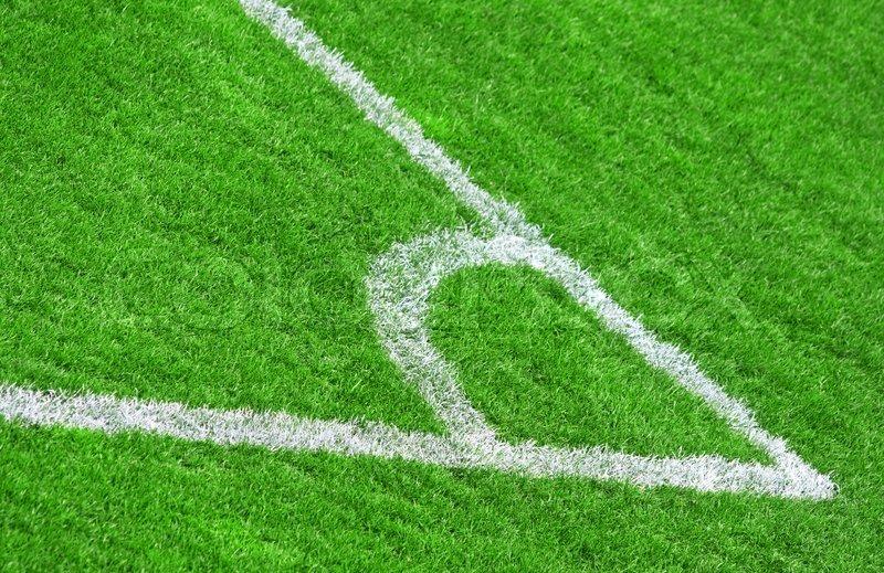 Soccer field grass Stock Photo Colourbox Green Grass Of The Football soccer Stock Photo Colourbox
