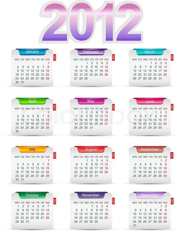 12 Monate 2012