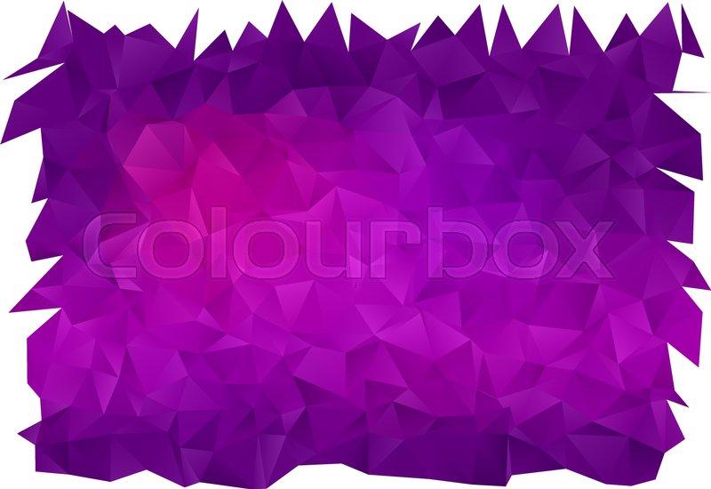 Vector Colorful Abstract Mosaic Stock Vector Colourbox