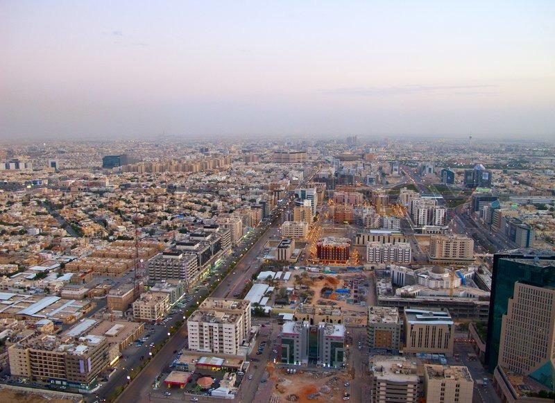 Saudi Arabien. Stadt