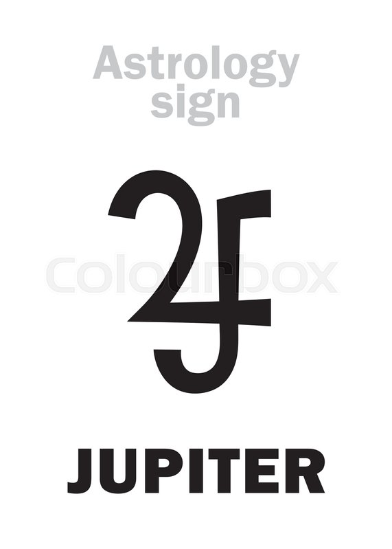 Astrology Alphabet Jupiter Classic Major Social Planet