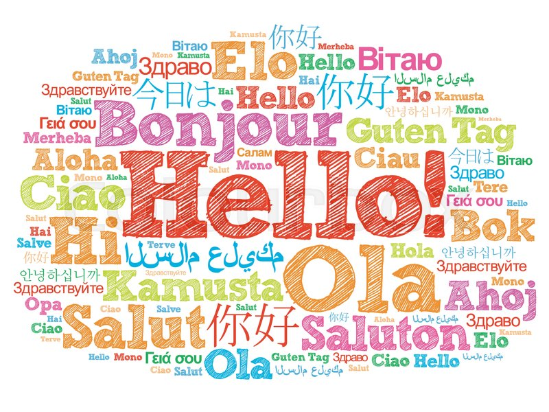 Image result for hello in different languages