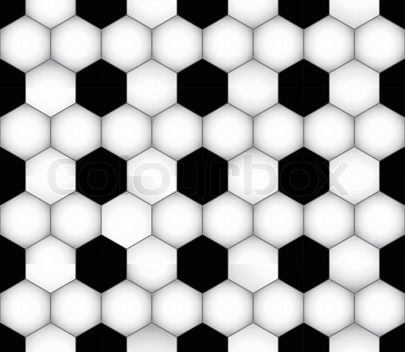 Vektor Nahtlose Fussball Textur Stock Vektor Colourbox