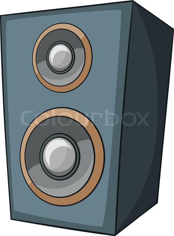 music speaker icon cartoon illustration of music speaker Phone Icon Vector Email Icon
