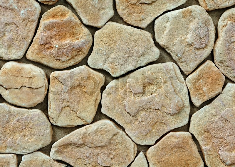 Large Texture Of Stone Wall  Stock Photo  Colourbox