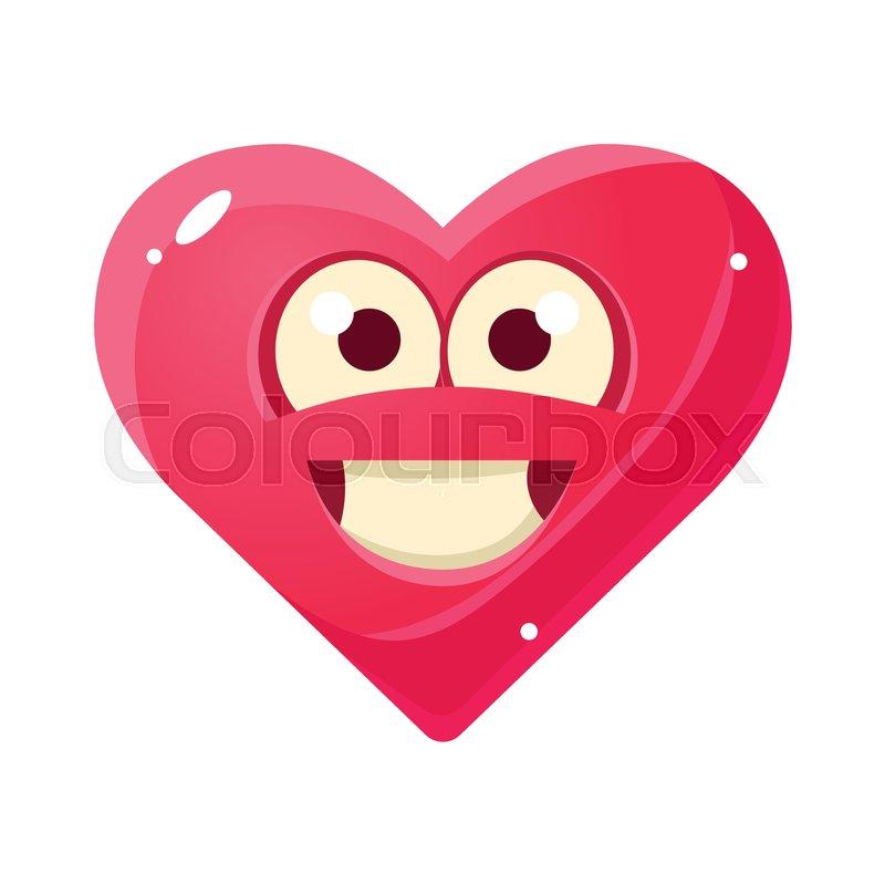 Heart emoticon text