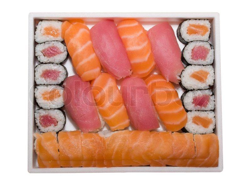 Reihe von japan traditionelles essen br tchen und sushi for Traditionelles japan