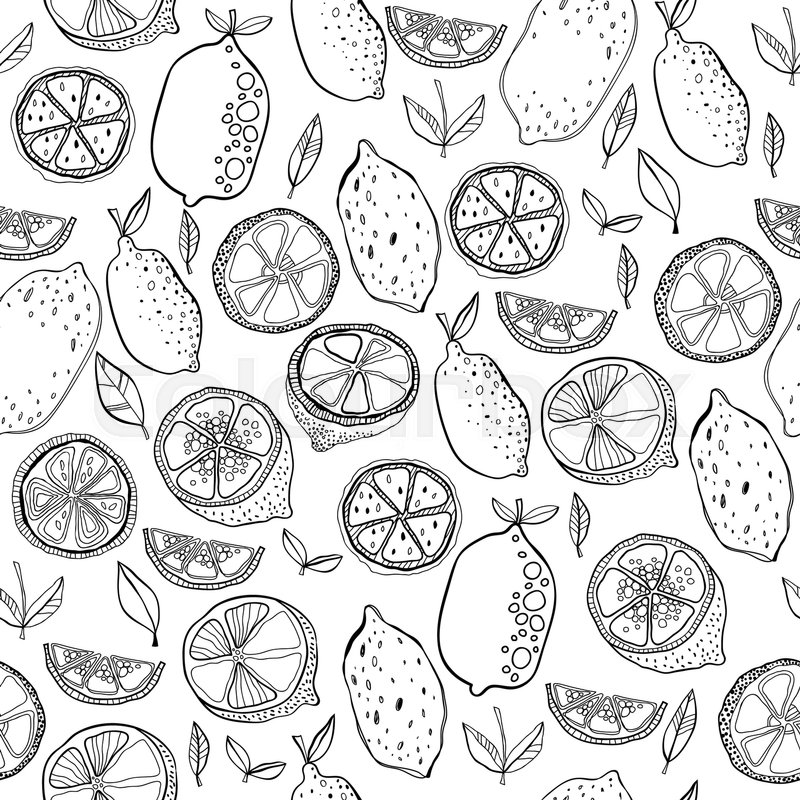 Coloring Page lemon - free printable coloring pages | 800x800