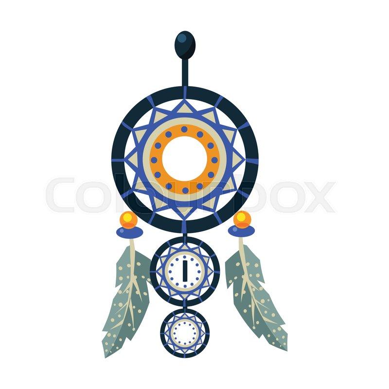 Dreamcathcer Carft Decorative Item Native American Indian Culture